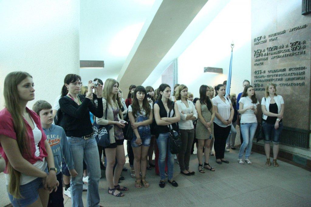 Студенты ФИСМО на местах боевой славы города-героя Новороссийска