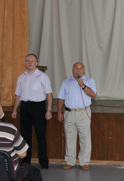 1 сентября прошла встреча преподавателей и студентов нашего факультета с первокурсниками