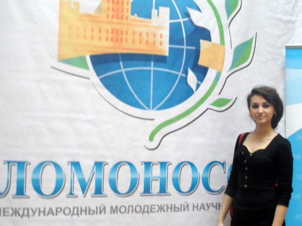 Студентка 3 курса ФИСМО КубГУ Мария Безлюдная вновь покоряет «Воробьевы горы»