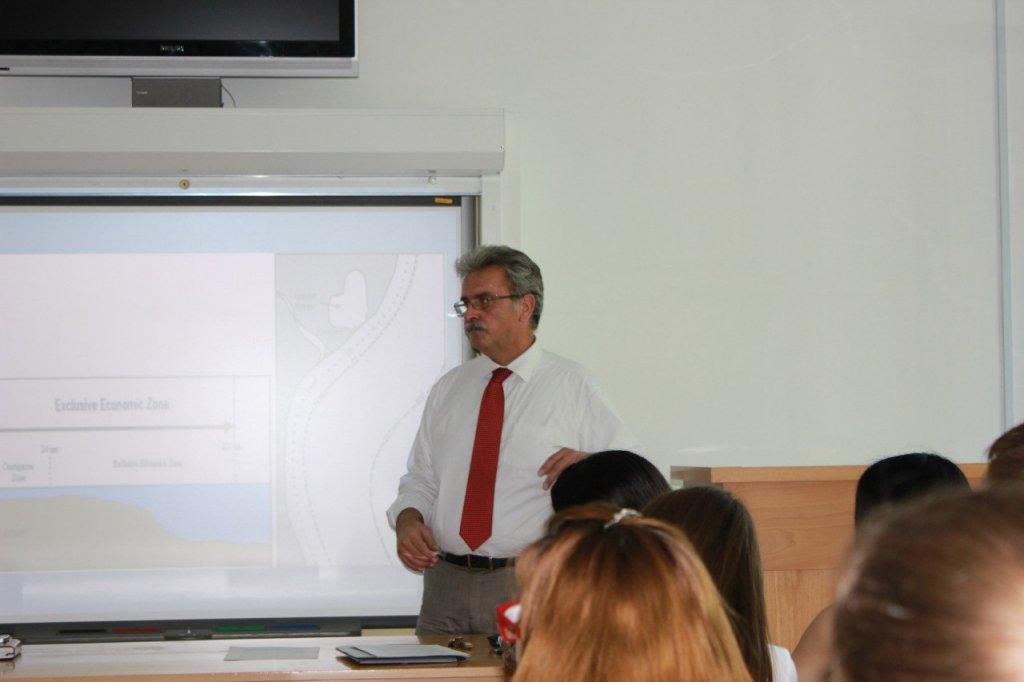 Лекция Генерального Консула Греческой Республики на ФИСМО